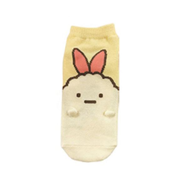【レディース】手付き靴下 すみっコぐらし えびふらいのしっぽ