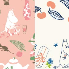 「moomin valley's party」シリーズ