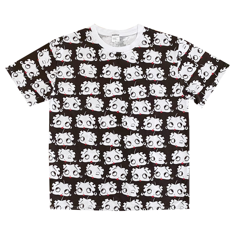 ベティー ブープ™ Tシャツ フェイス パターン(L)