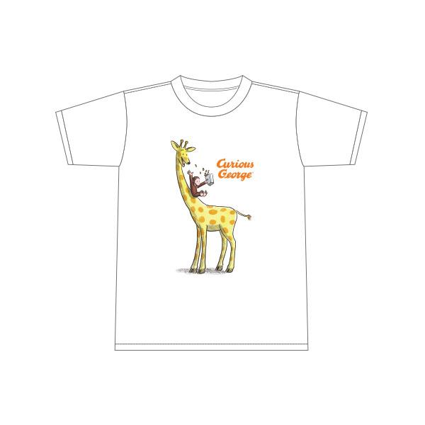 おさるのジョージ Tシャツ キリン(キッズ110)
