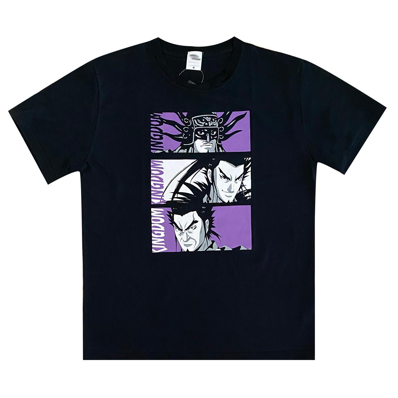 キングダム/Tシャツ/王翦・桓騎・蒙武(L)