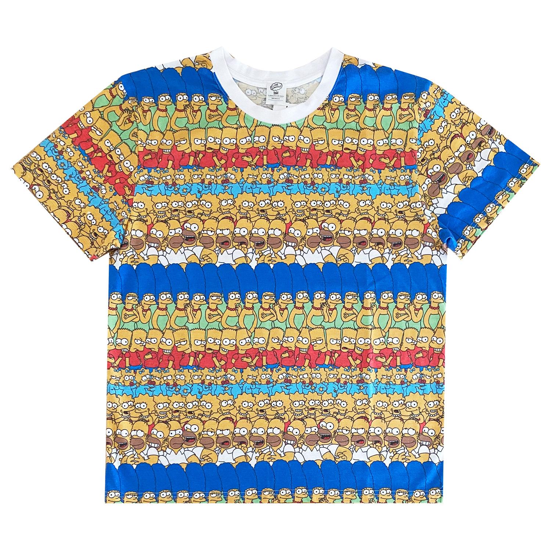 ザ・シンプソンズ/Tシャツ/ファミリー/パターン(M)