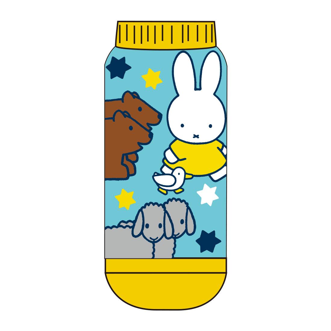 【レディース】キャラックス ディック・ブルーナ miffy and Animals アニマルBL