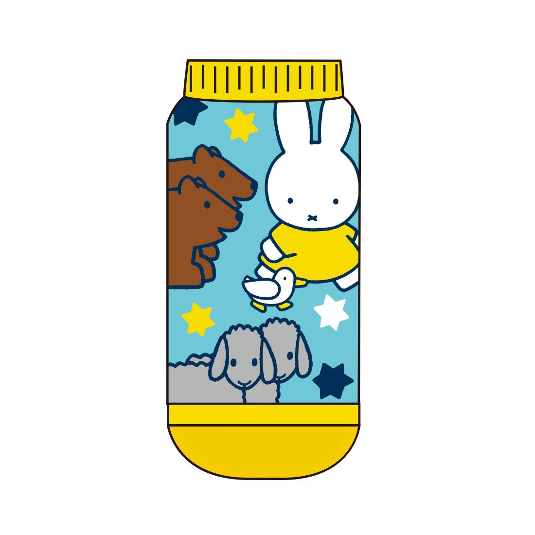 【キッズ】キャラックス ディック・ブルーナ miffy and Animals アニマルBL