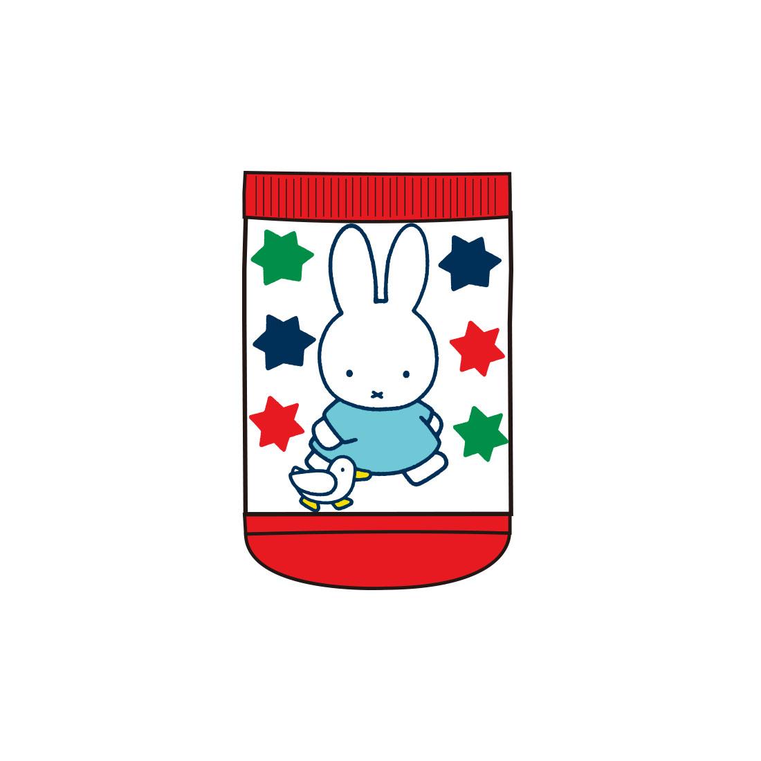 【ベビー】キャラックス ディック・ブルーナ miffy and Animals アニマルRD