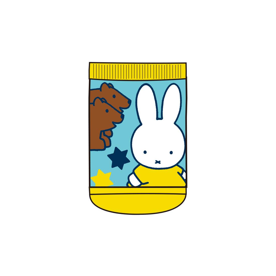 【ベビー】キャラックス ディック・ブルーナ miffy and Animals アニマルBL