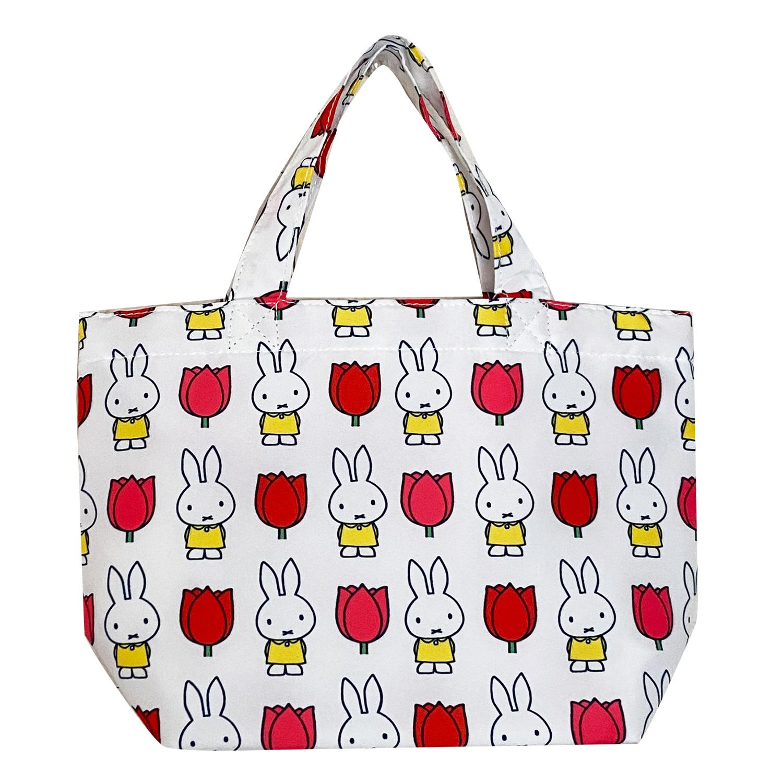 ディック・ブルーナ ランチエコバッグ miffy and tulips パターン