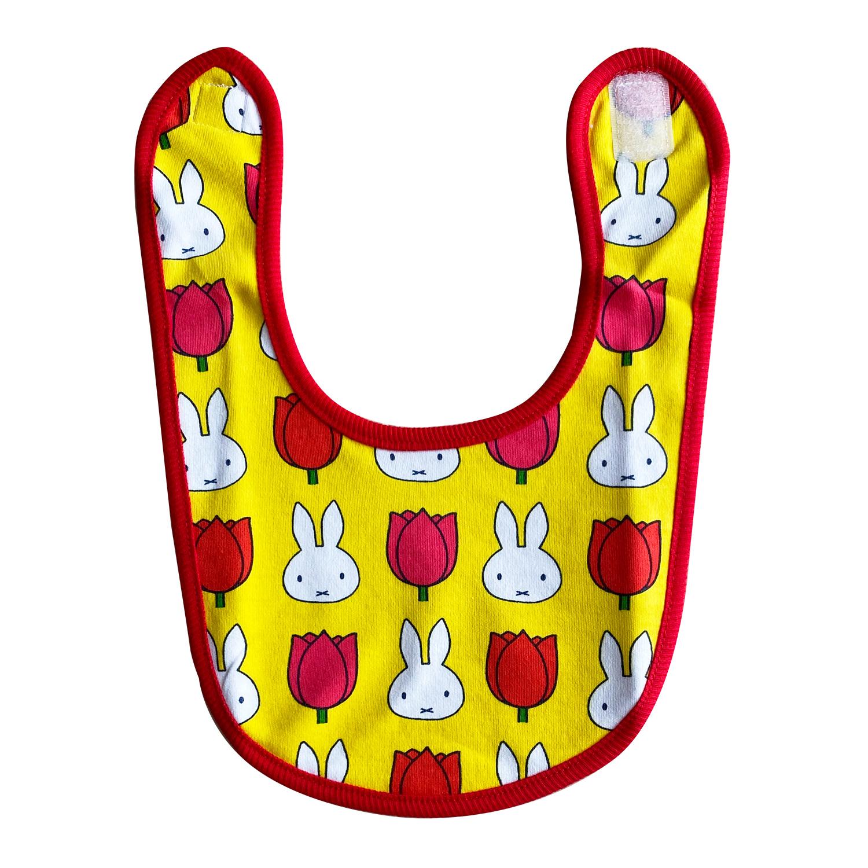 ディック・ブルーナ ベビービブ miffy and tulips パターン