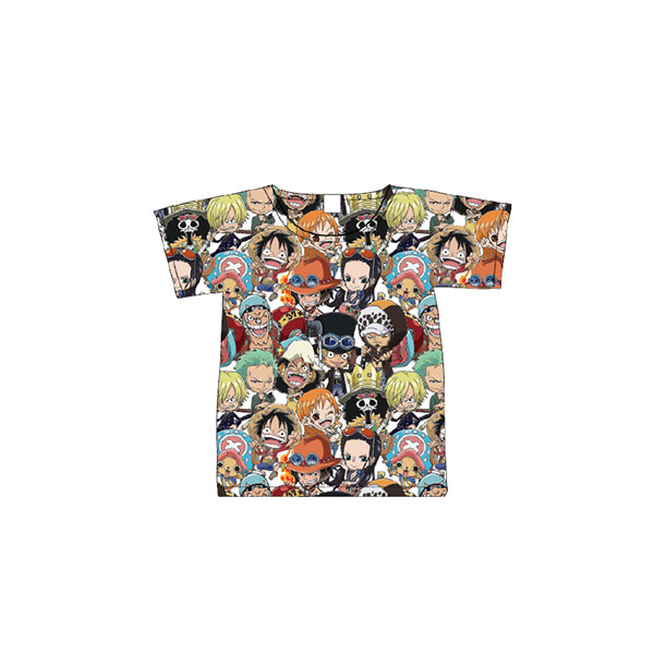 ONE PIECE Tシャツ 集合パターン(キッズ120)