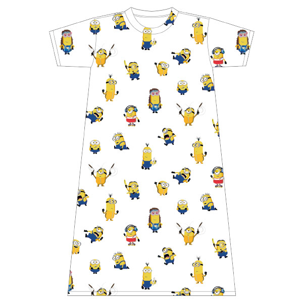 ミニオン ロングTシャツ コスチューム パターン