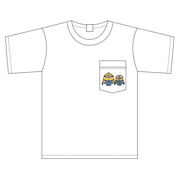 ミニオン ワイドTシャツ ワンポイント