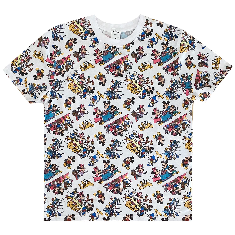 ディズニーキャラクター/Tシャツ/ミッキーマウス&フレンズ/パターン(Mサイズ)