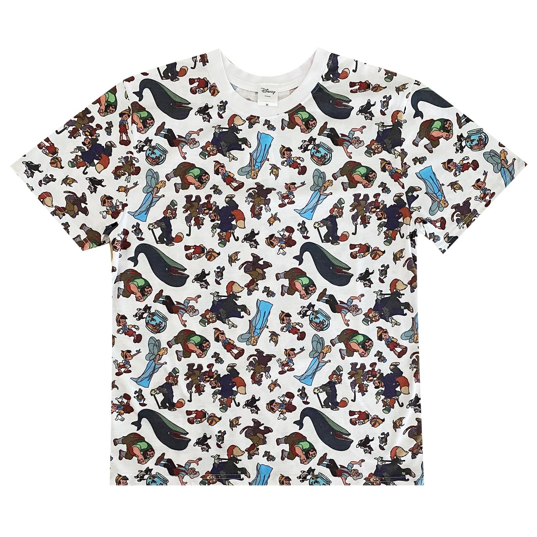 ピノキオ/Tシャツ/パターン(L)