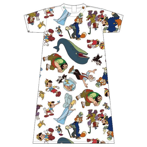 ピノキオ/ロングTシャツ/パターン