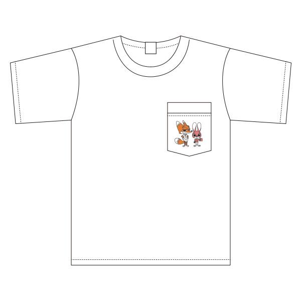 ズートピア/ワイドTシャツ/ワンポイント