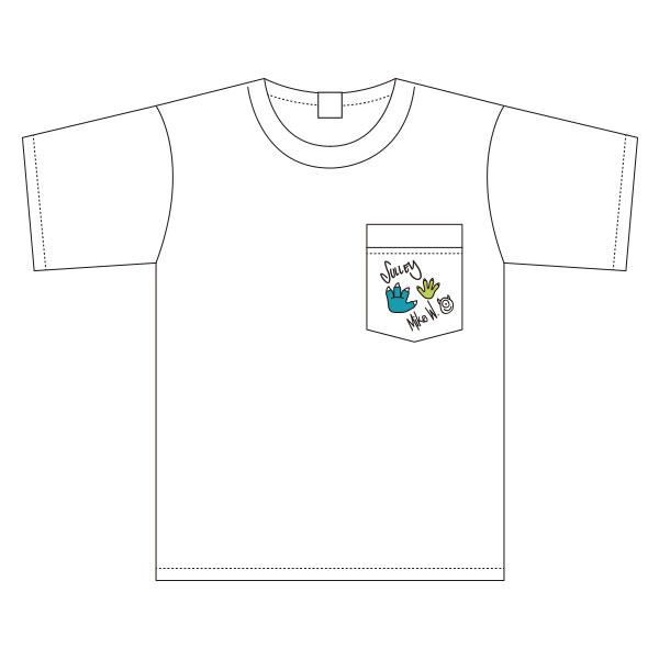 モンスターズ・インク/ワイドTシャツ/ワンポイント