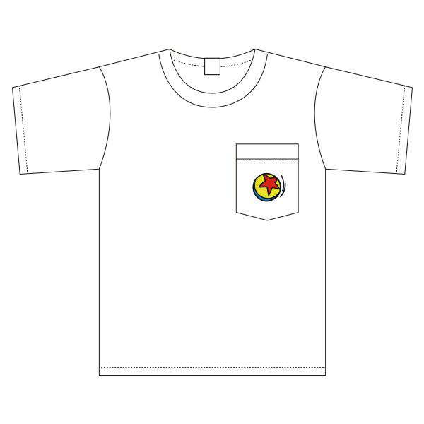 ピクサーボール/ワイドTシャツ/ワンポイント
