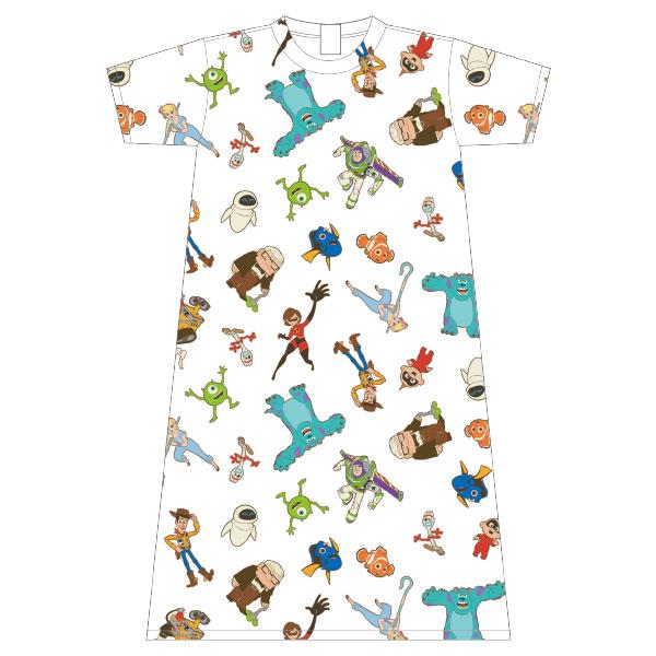 ピクサー/ロングTシャツ/パターン