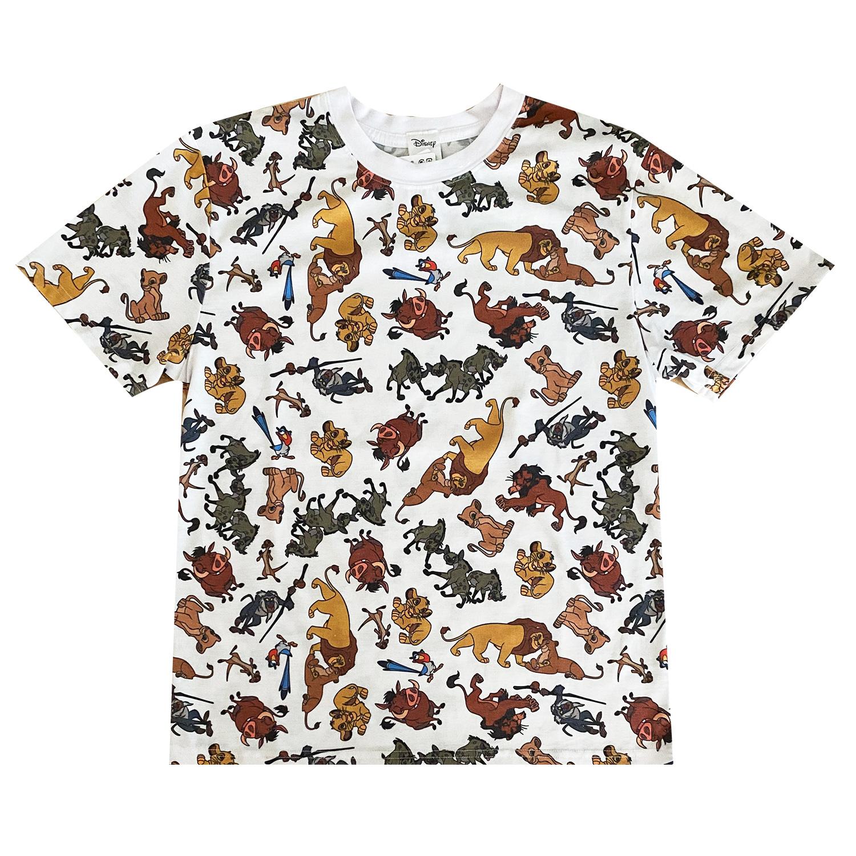 ライオン・キング/Tシャツ/オールスター/総柄(M)