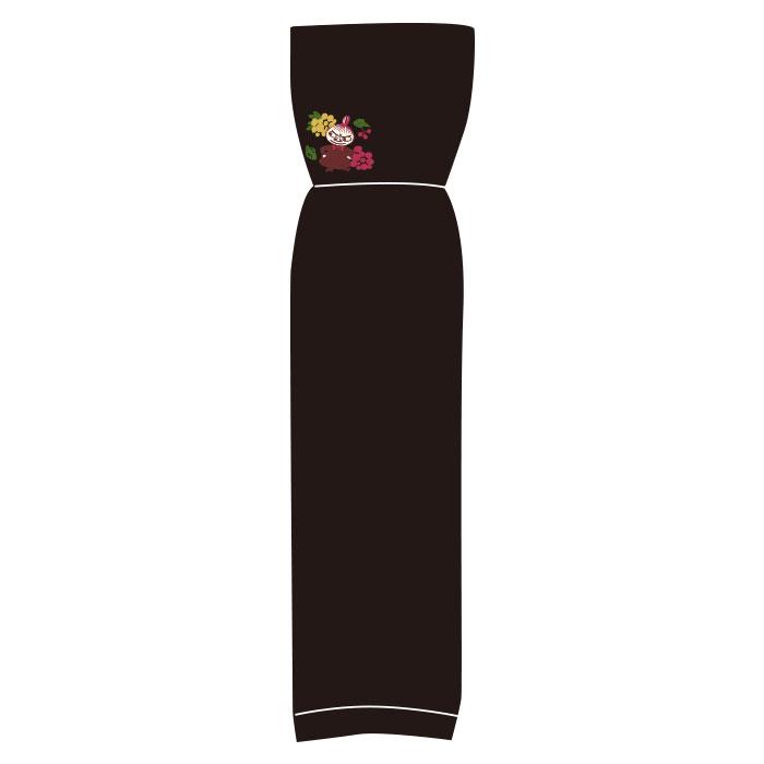 ムーミン UV手袋 リトルミイ 花(ブラック)