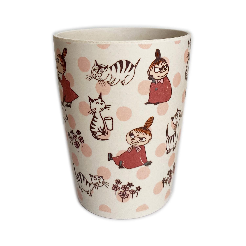 ムーミン バンブー食器 350mlカップ リトルミイと猫