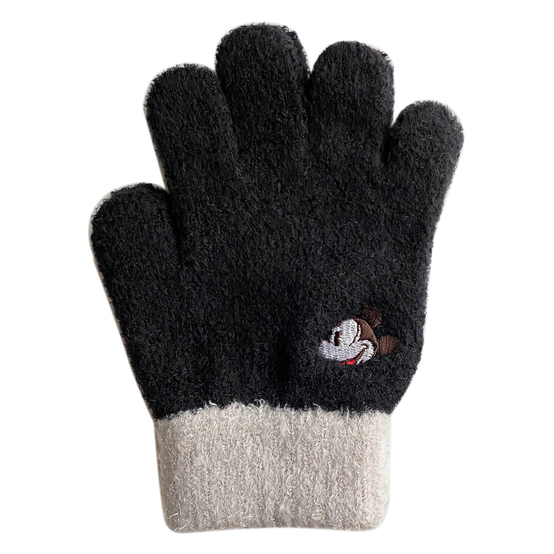 ミッキーマウス&フレンズ/ジュニア手袋/ミッキーマウス/フェイス