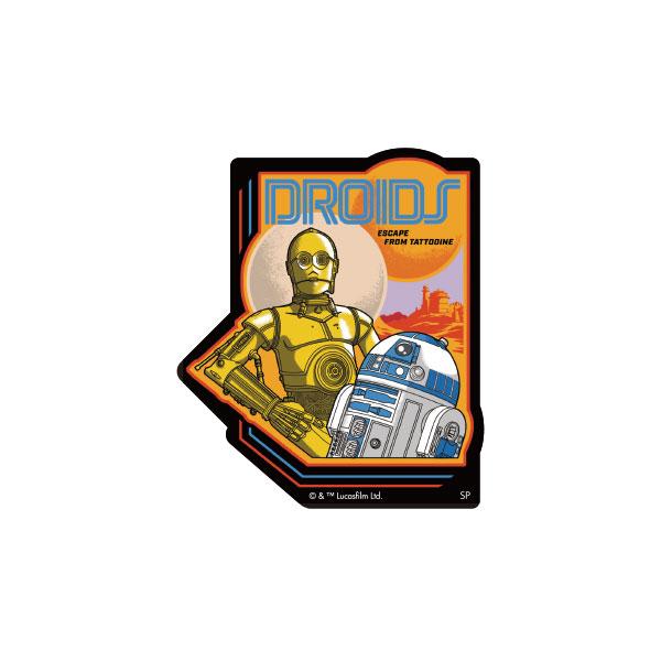 STAR WARS キャラクターステッカー R2-D2&C-3PO