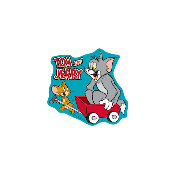 トムとジェリー キャラクターステッカー 台車