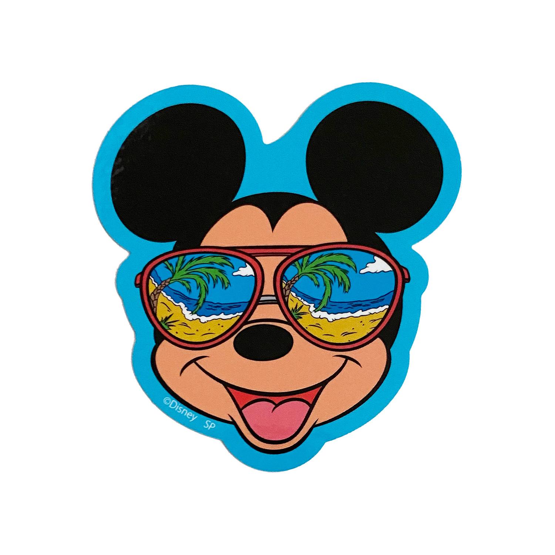 ミッキー&フレンズ/キャラクターステッカー/ミッキーマウス/サングラス