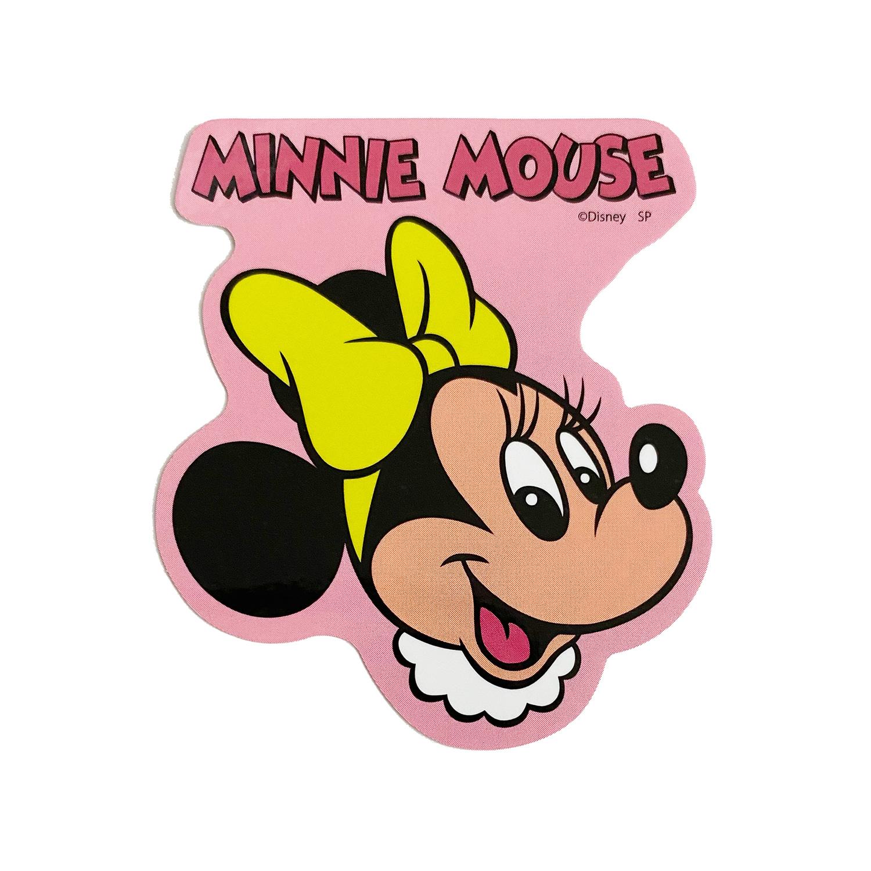 ミッキー&フレンズ/キャラクターステッカー/ミニーマウス/フェイス