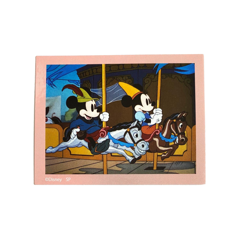 ミッキー&フレンズ/キャラクターステッカー/ミッキーマウス&ミニーマウス/ファイナルフレーム