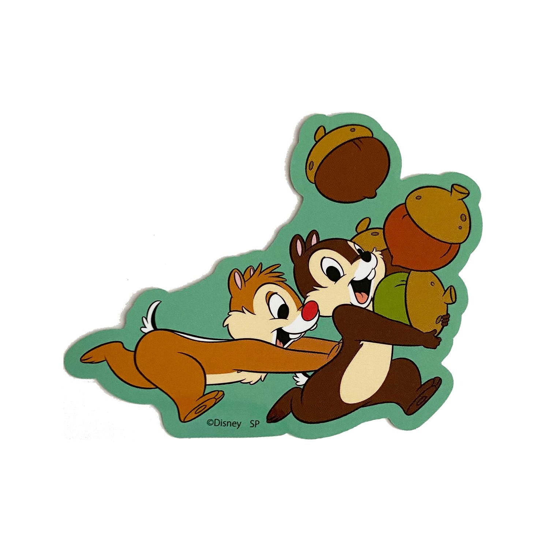 ミッキー&フレンズ/キャラクターステッカー/チップ&デール