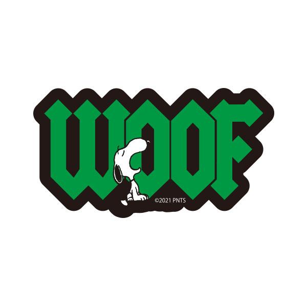 PEANUTS キャラクターステッカー ロゴ