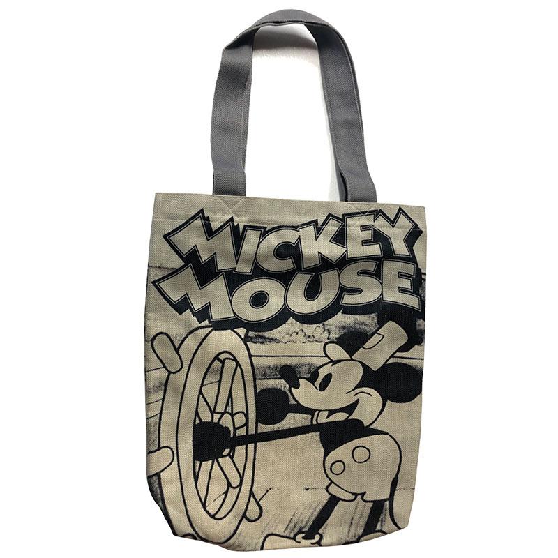 <Rendez-Vous>ミッキーマウス&フレンズ/タテ型トートバッグ/蒸気船ウィリー
