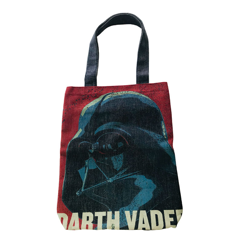 <Rendez-Vous>STAR WARS/タテ型トートバッグ/ダース・ベイダー