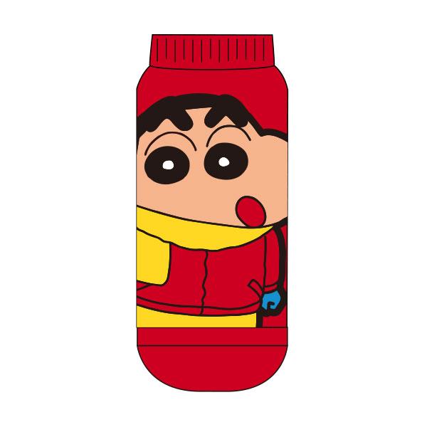 【レディース】もっこもこ靴下 クレヨンしんちゃん マフラー