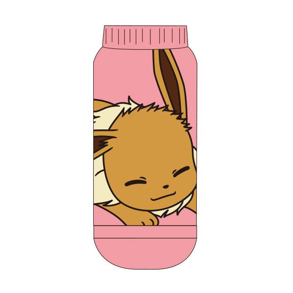 【レディース】もっこもこ靴下 ポケットモンスター イーブイ おやすみ