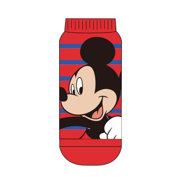 【レディース】もっこもこ靴下/ミッキー&フレンズ/ミッキーマウス/ボーダー