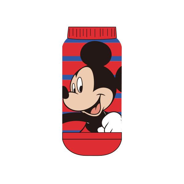 【キッズ】もっこもこ靴下/ディズニーキャラクター/ミッキー&フレンズ/ミッキーマウス/ボーダー