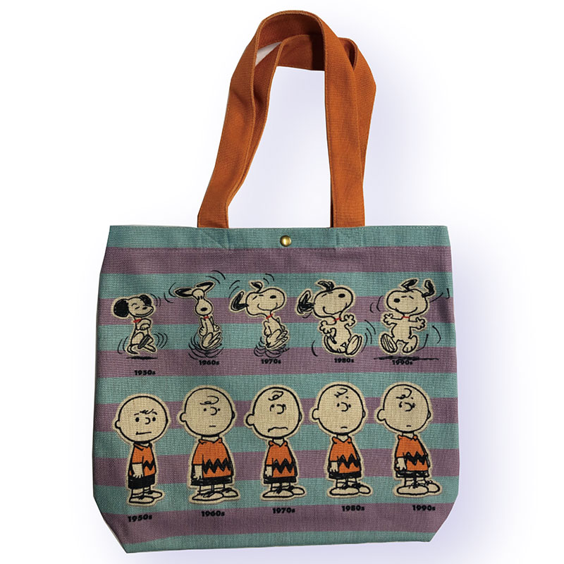 <Rendez-Vous>PEANUTS ヨコ型トートバッグ 年代
