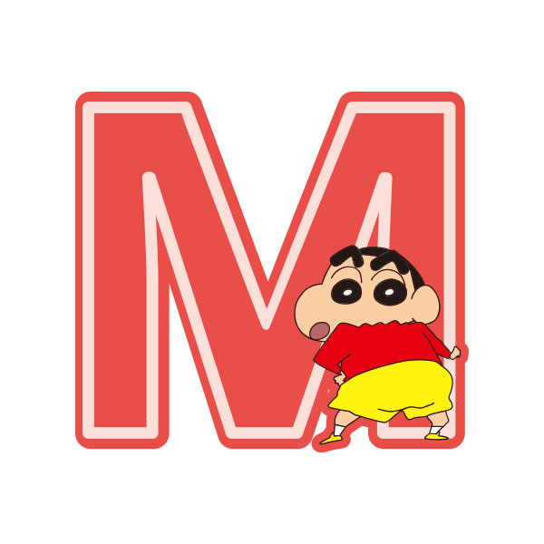 クレヨンしんちゃん ワッペン  M