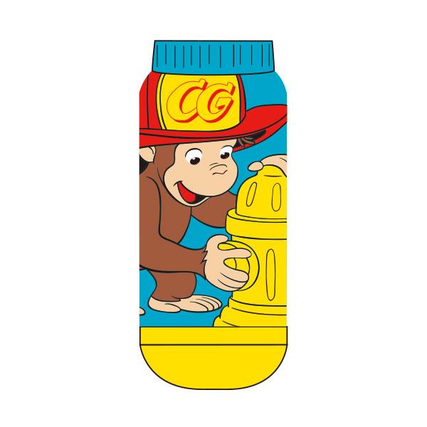 【レディース】キャラックス おさるのジョージ 消防士