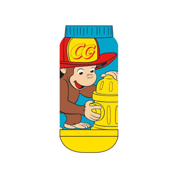 【キッズ】キャラックス おさるのジョージ 消防士