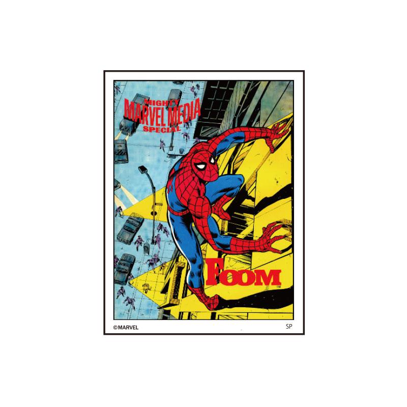 MARVEL/キャラクターステッカー/スパイダーマン/コミックカバー