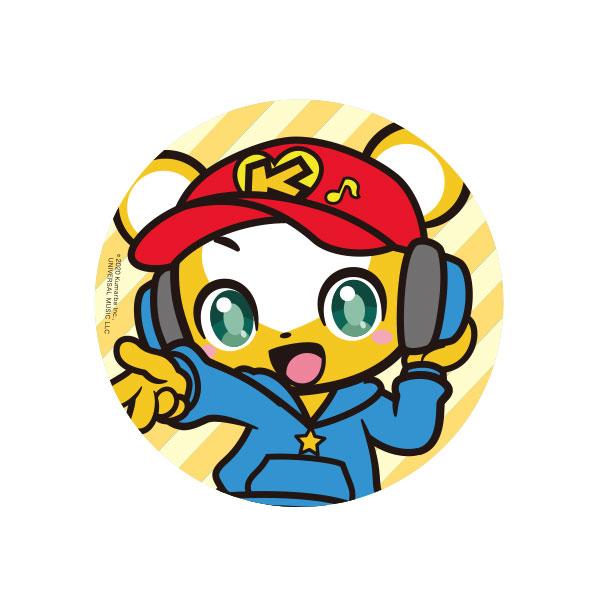 クマーバチャンネル 缶バッジ DJクマーバ