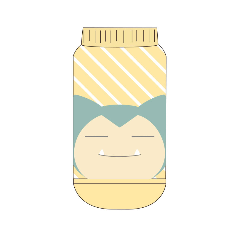 【ジュニア】キャラックス ポケットモンスター  カビゴン キュート