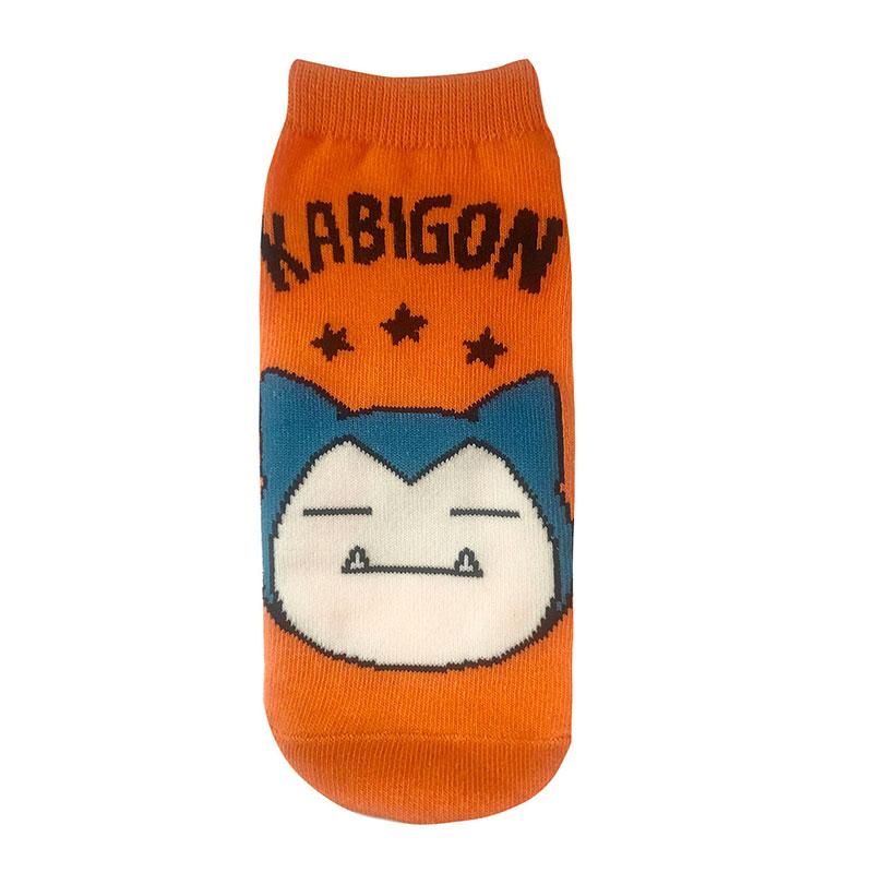 【レディース】キャラックス ポケットモンスター カビゴンとロゴ