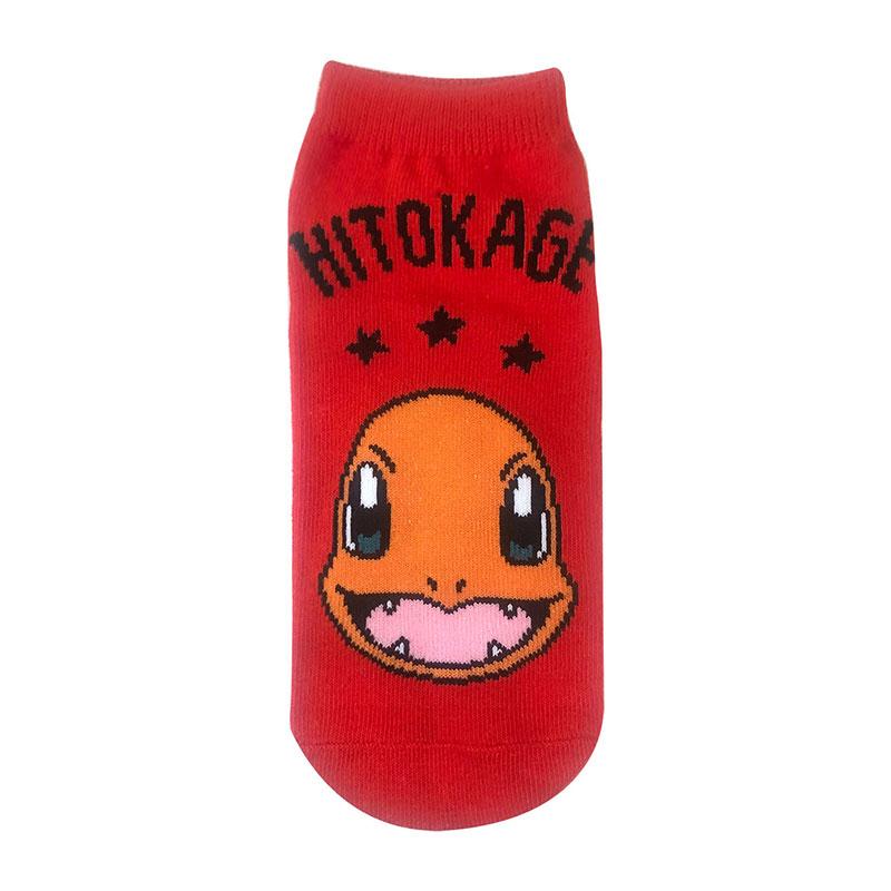 【レディース】キャラックス ポケットモンスター ヒトカゲとロゴ
