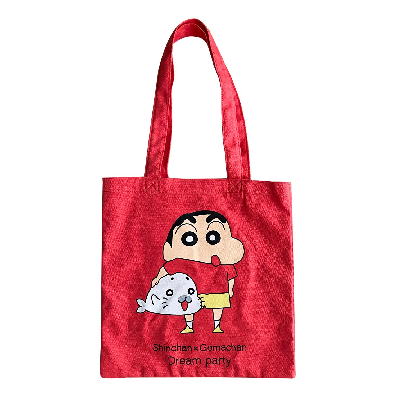 Shinchan × Gomachan カラートートバッグ しん×ゴマ