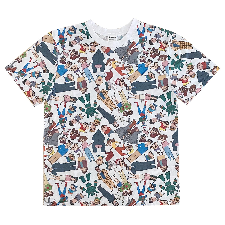クレヨンしんちゃん Tシャツ 集合 パターン(M)